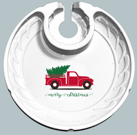 Holiday Christmas Truck (Box of 6 Plates)