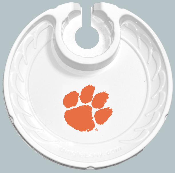 Clemson University Tigers FANPLATEs