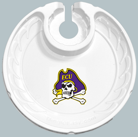 East Carolina Pirates Box of 6 Plastic Party Plates