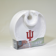 Indiana Hoosiers  Box of 6 Plastic Party Plates