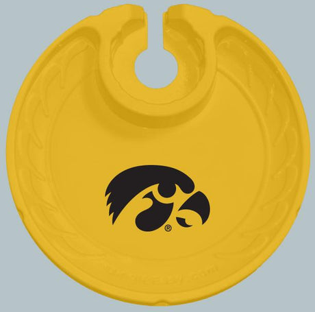 Iowa Hawkeyes   Box of 6 Plastic Party Plates