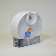 Kansas Jayhawks   Box of 6 Plastic Party Plates