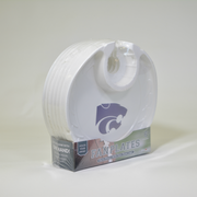 Kansas State Wildcats  Box of 6 Plastic Party Plates