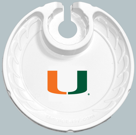 University of Miami Hurricanes FANPLATEs