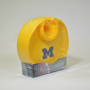 Michigan Wolverines  Box of 6 Plastic Party Plates