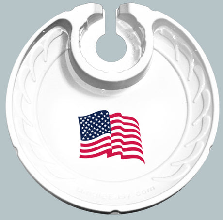 American Flag (Box of 6 Plates)