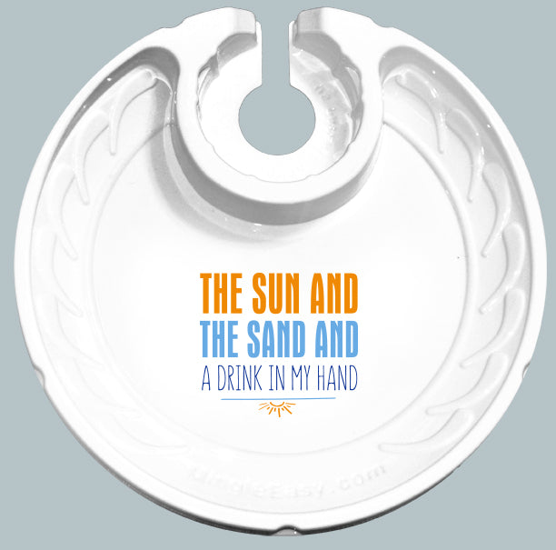 Sun and Sand (Box of 6 Plates)