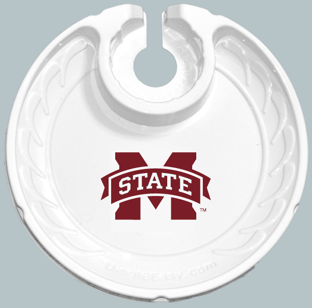Mississippi State Bulldogs  Box of 6 Plastic Party Plates