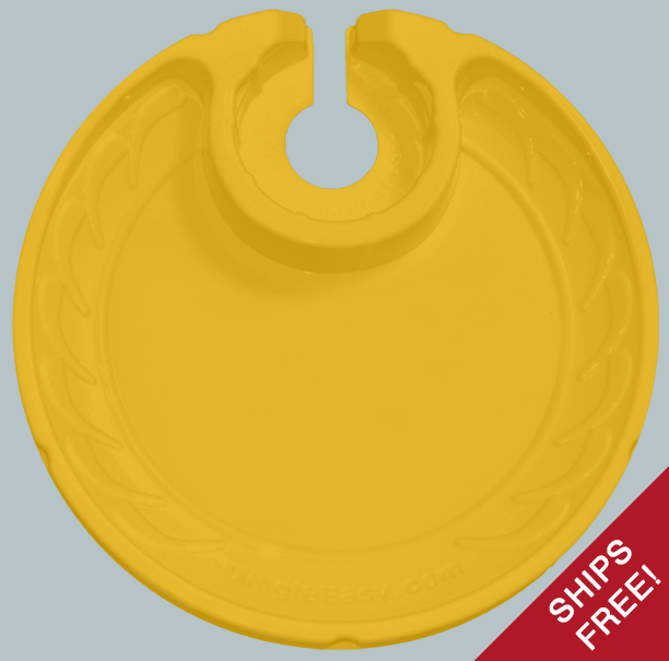 Plain Yellow Plates
