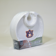 Auburn Tigers Box of 6 Plastic Party Plates