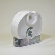 Michigan State Spartans  Box of 6 Plastic Party Plates