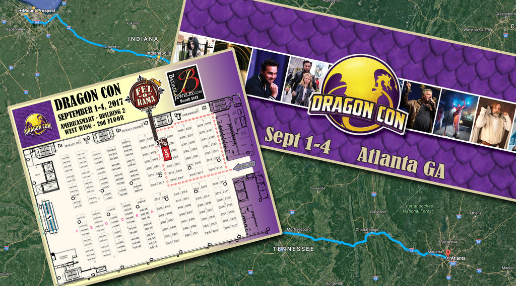 The Road to Dragon Con 2017