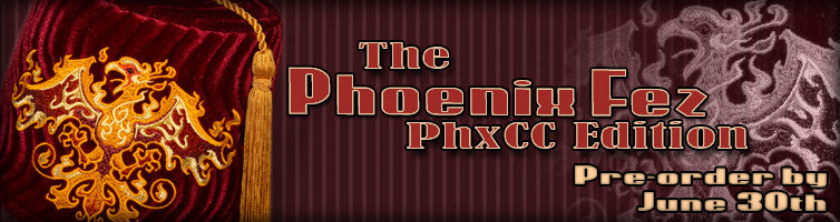 #133 The Phoenix Fez ~ PhxCC Edition