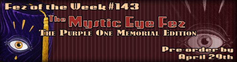 #143 The Mystic Eye ~ Purple One Memorial Edition