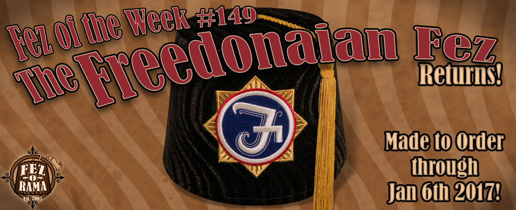 #149 ~ The Freedonian Fez Returns