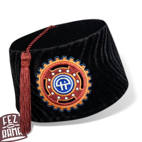 TWit Brick House Fez - Low Profile