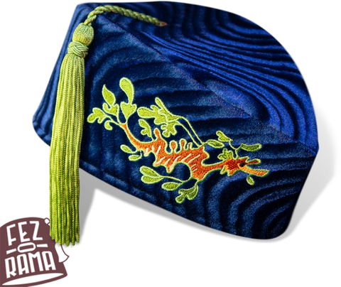 Blue Sea Dragon Chapeau