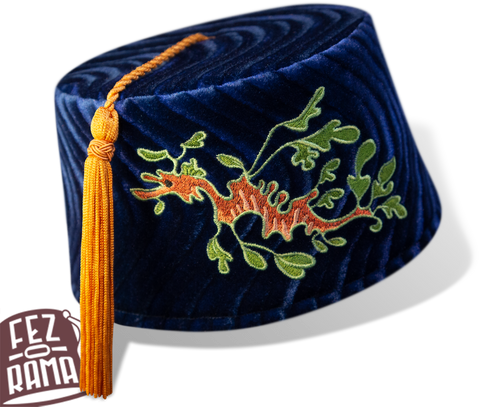 Blue Sea Dragon Fez