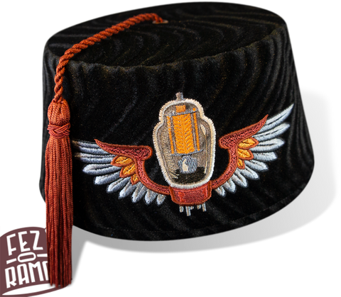 237c9af1a79b7 Fez-o-rama - Fine Hand-made Embroidered Velvet Fez Hats   Accessories.