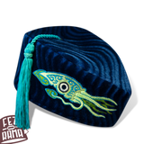 Blue Squid Chapeau