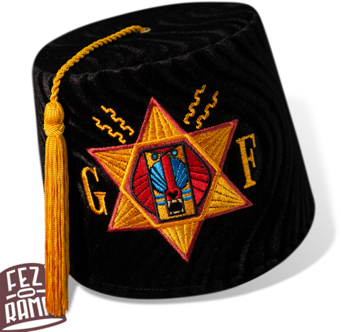 Order of the Golden Fez - Tall