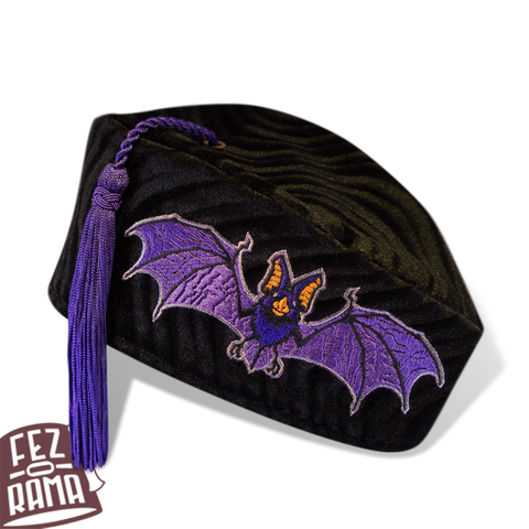 Purple Bat Chapeau