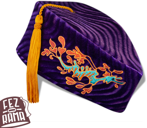 Purple Sea Dragon Chapeau