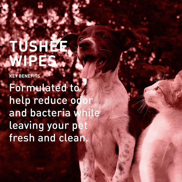 Quick Bath® Tushee Wipes Removes Odor & Bacteria [product_type - IVS Pets International Veterinary Sciences data-image-id=