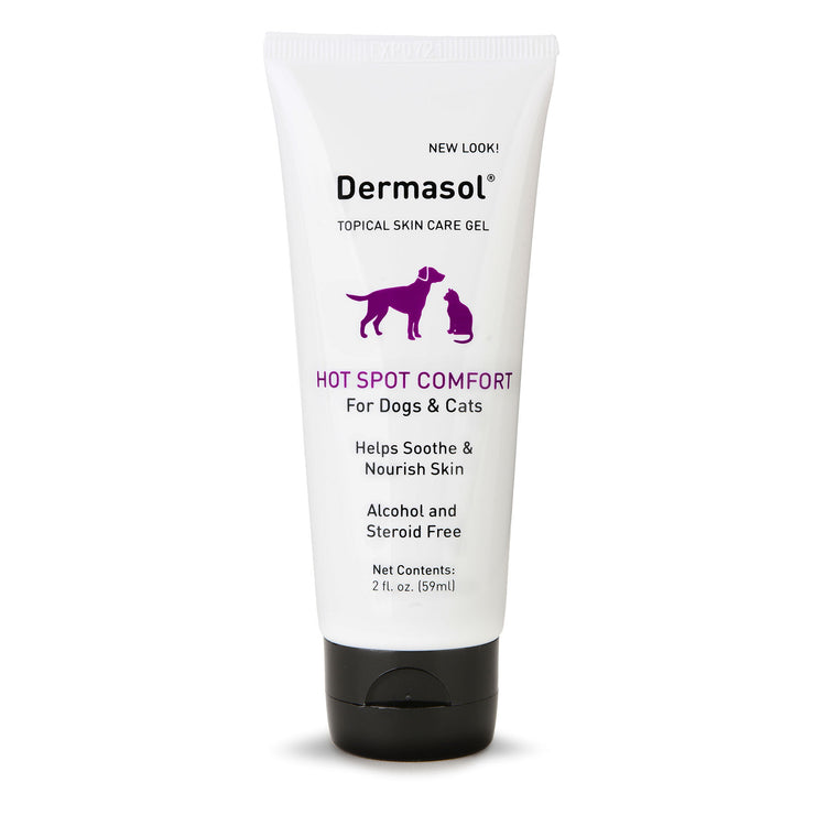 Dermasol® Irritating Skin Relief Gel for Cats and Dogs [product_type - IVS Pets International Veterinary Sciences data-image-id=