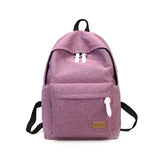 Women Canvas Shoulder Backpack,  - UREGALO