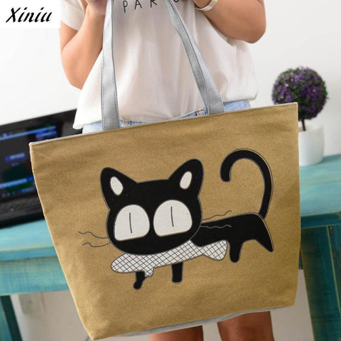 Cat Gatos Canvas Bag,  - UREGALO