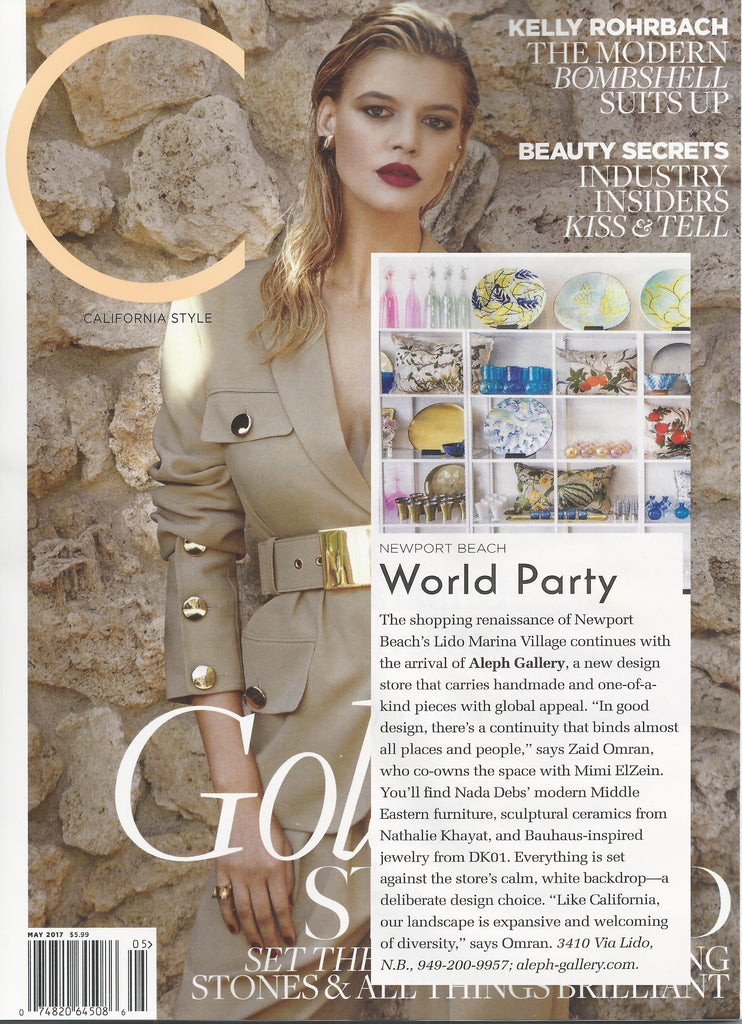 Aleph Gallery in C Magazine