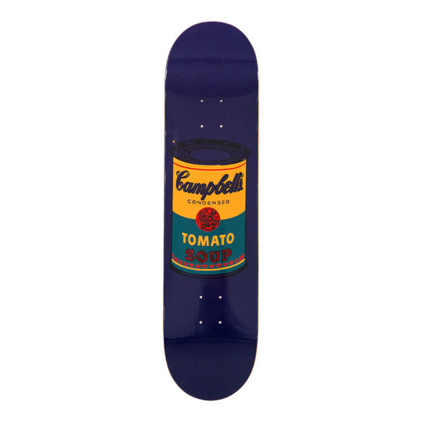Andy Warhol Skateboard Teal