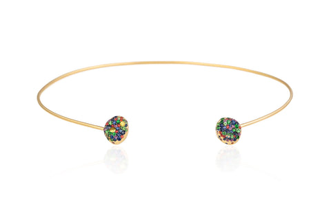 Nada G Multi Colored Choker