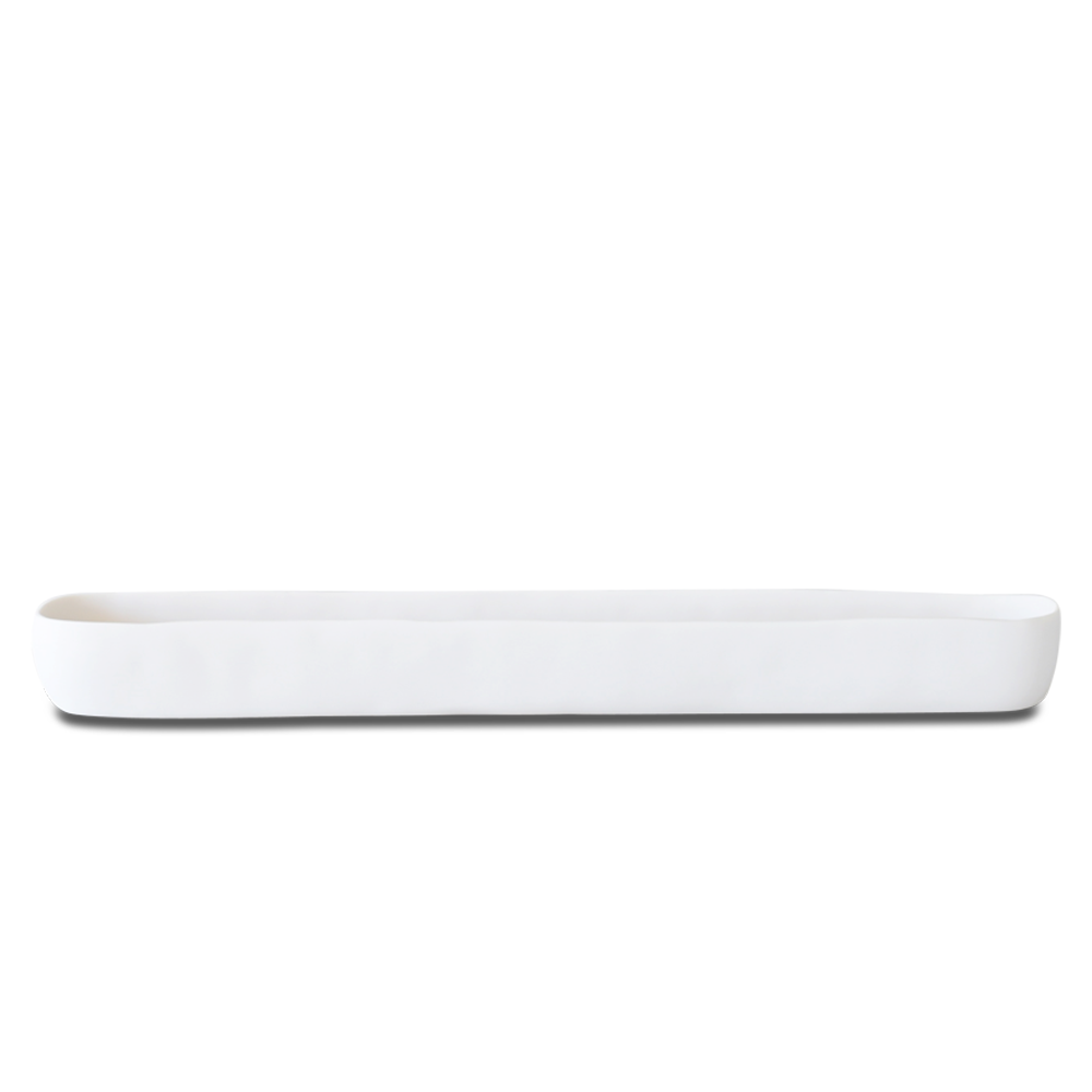 Tina Frey Long Trough, White