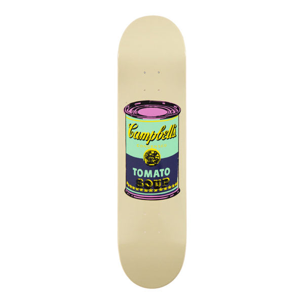 ANDAY WARHOL CAMPBELL SOUP SINGLE SKATEBOARD