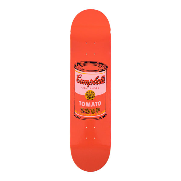 Andy Warhol Skateboard Peach
