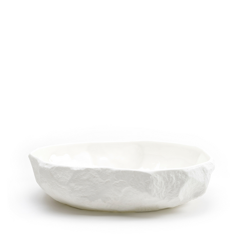 Max Lamb Crockery White Flat Bowl