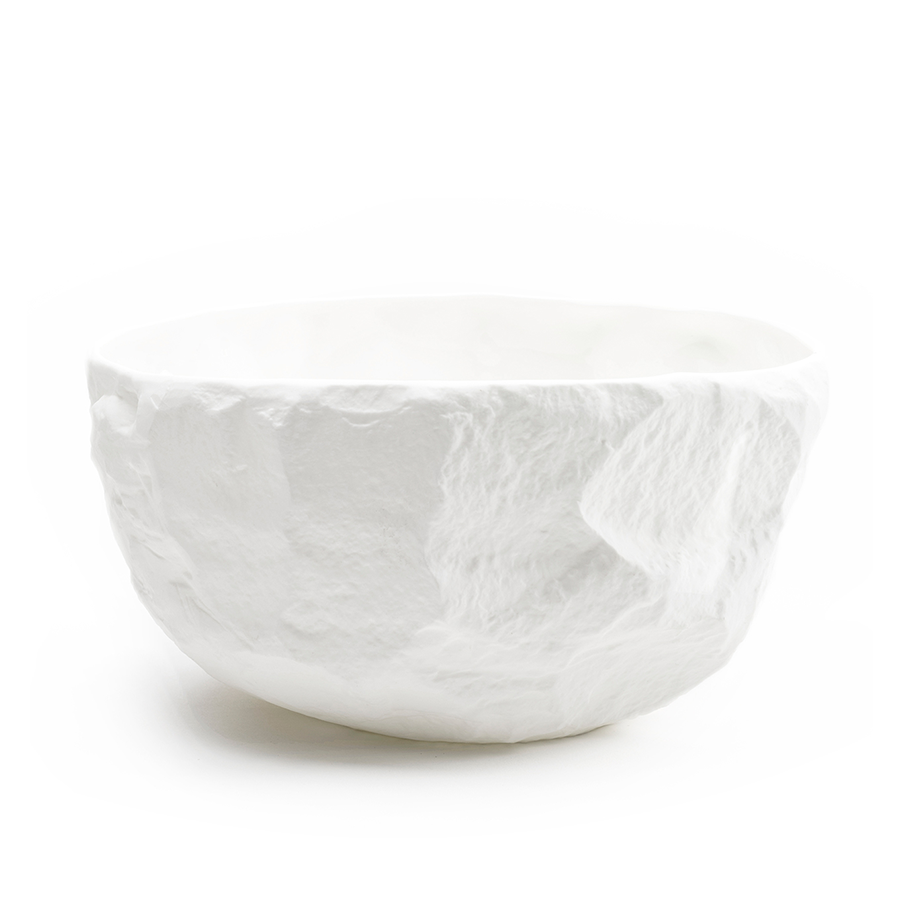Max Lamb Crockery White Large Deep Bowl