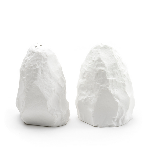 Max Lamb Crockery White Salt & Pepper