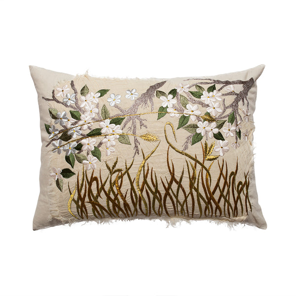 Bokja Embroidered Primavera Cushion