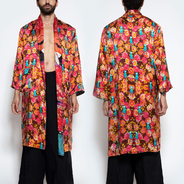 JULES VERNES | MONKEY BUSINESS REVERSIBLE SLIP COAT