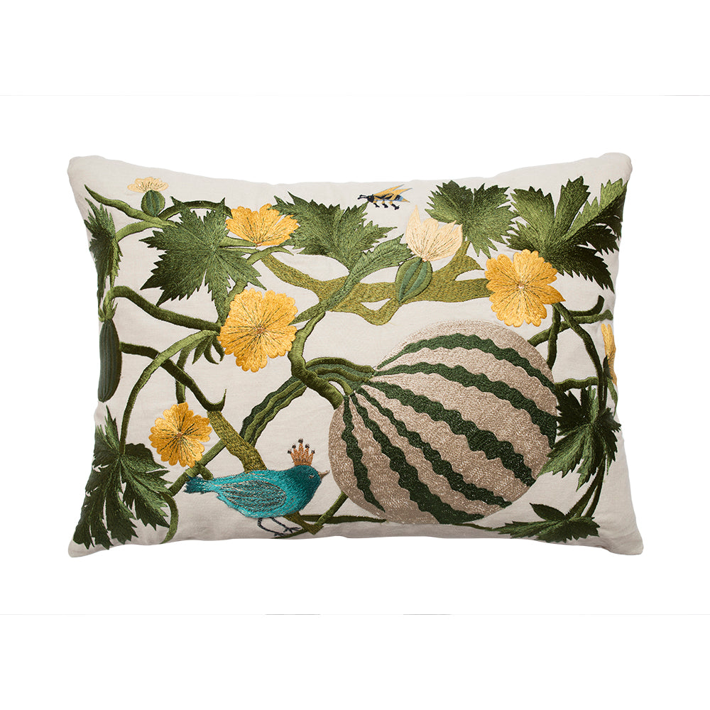 Bokja Embroidered Watermelon Cushion