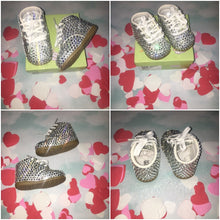 Limited Edition Baby Bling Booties In Crystal Size 3W
