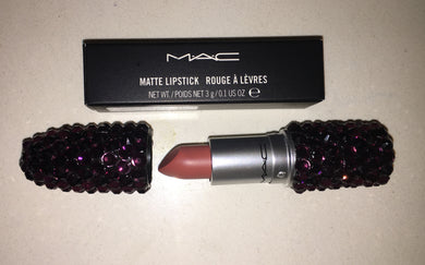MAC Bedazzled Lipstick In Amethyst Purple Crystals