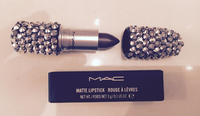 MAC Bedazzled Lipstick In Peridot Green Crystals