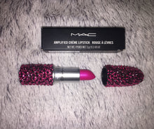 MAC Bedazzled Lipstick In Rose Pink Crystals