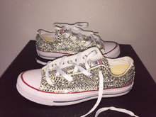all star diamond chucks crystals by nicole