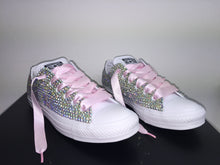 baby pink ribbon laces all star converse