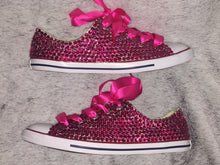 custom converse original chucks crystals by nicole